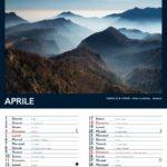 Aprile calendario dell'altopiano di Tonezza 2021