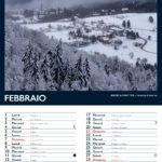 Febbraio calendario dell'altopiano di Tonezza 2021