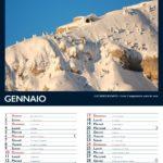 Gennaio calendario dell'altopiano di Tonezza 2021