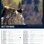 Calendario Tonezza 2021 Settembre