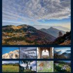 Copertina calendario dell'altopiano di Tonezza 2021