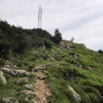 La vetta di Monte Spitz