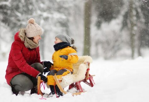 famiglia inverno