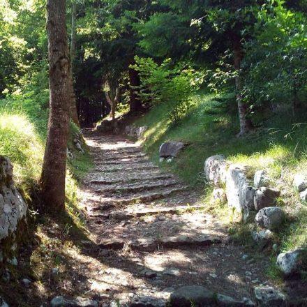 sentiero delle fontanelle